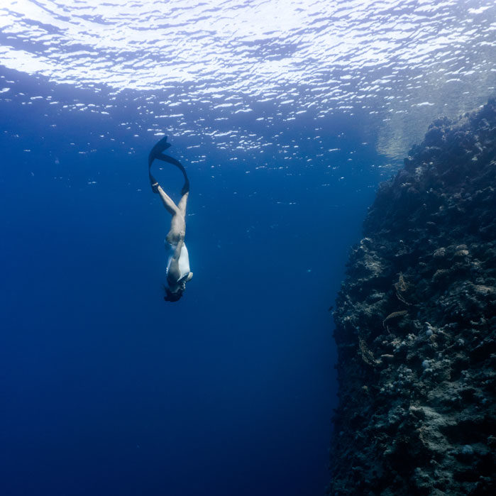 фридайвинг в море